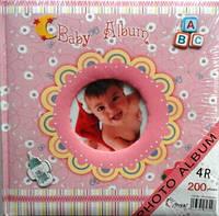 Альбом. Фотоальбом детский 2309 ABC 200ф.