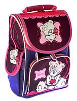 Ранец школьный ортопедический каркасный Smile Мишка Тедди