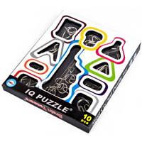 Металеві головоломки Brain Teasers, набір із 10 шт. / Металлические головоломки Брейн Тизеры, набор из 10 шт.