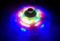 Дзиґа музична із підсвіткою у формі НЛО / Юла с песенкой и подсветкой (Звездный волчок НЛО), фото 1