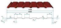 Профнастил ПС(К)-18  цинк 0,35мм