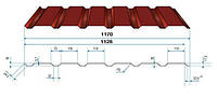 Профнастил ПС(К)-18  полиестер 0,45мм