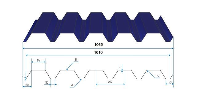 Профнастил Н-44  матполиестер 0,45мм