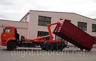 Ломовоз Камаз 6520 с мультилифтом 18т