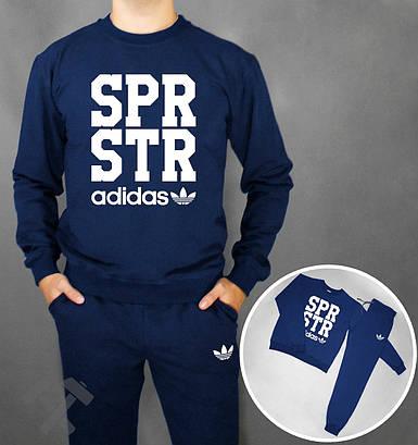 Спортивный костюм Adidas SPR STR синий