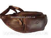 Кожаная сумка на пояс Katana