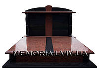 Подвійний гранітний памятник 2133