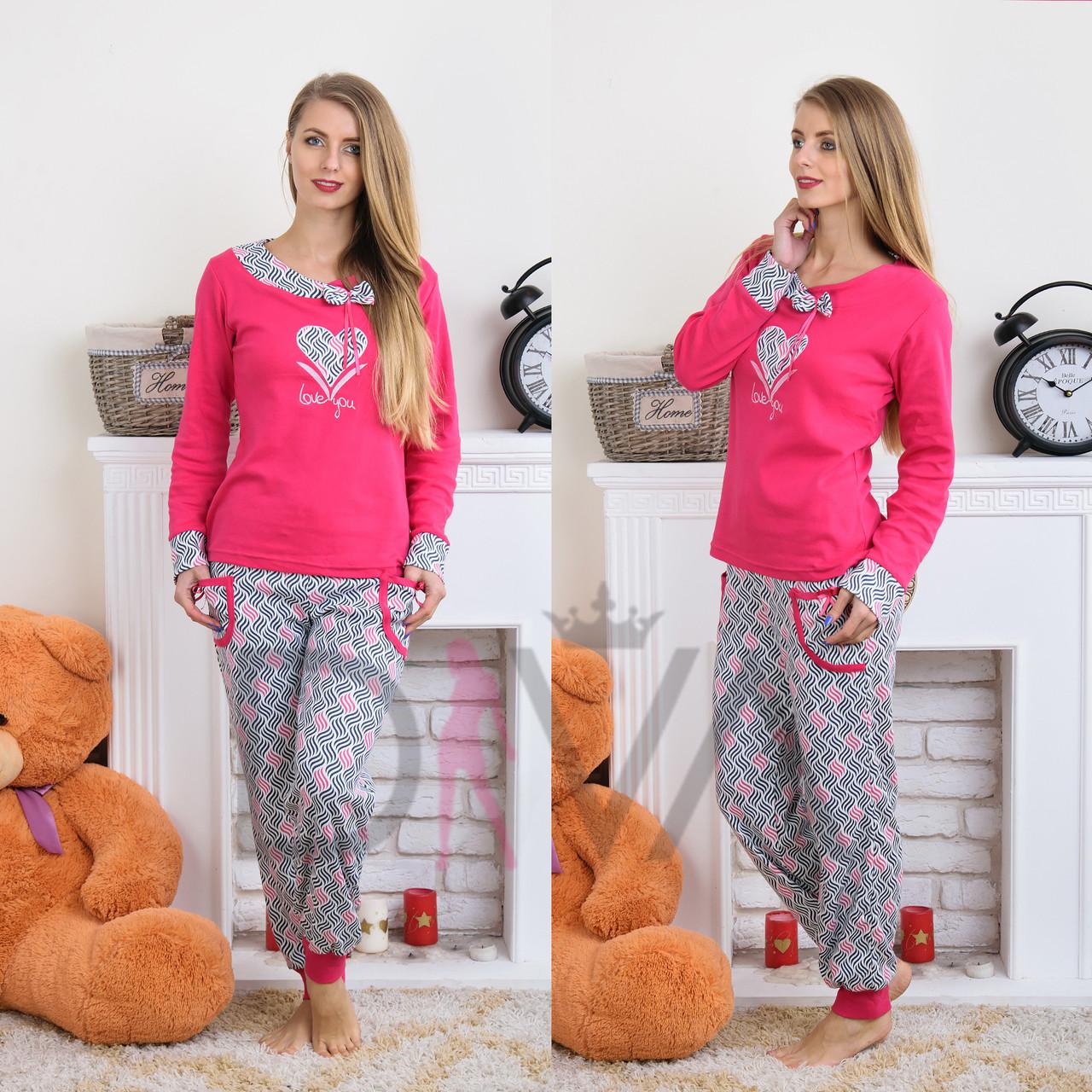 Пижама женская интерлок Dalmina Турция DLMN51060 (3 ед. в упаковке ... 17ad1da43e52b