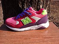 Детские кроссовки на липучках лёгкие подошва пена  M073