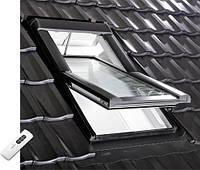 Мансардное окно Roto Designo R4/R6 (1140mm x 1180mm) с ДУ