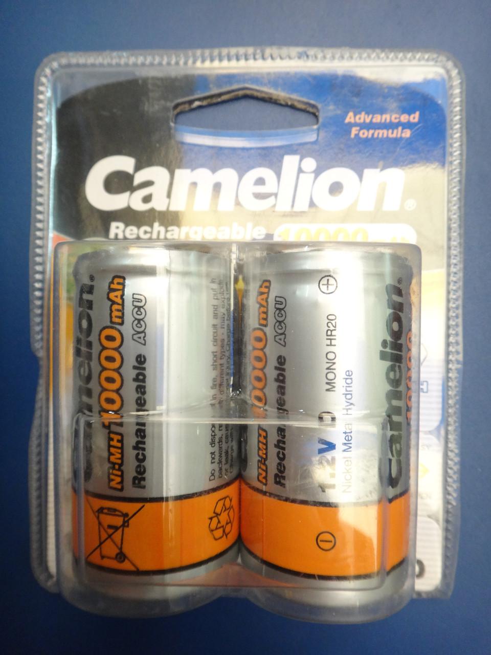 Аккумулятор Camelion D20 10000mAh 1.2V Ni-MH R20