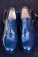 Мужские итальянские туфли John Luis, 27.5 см, 42 размер. Код: 402.
