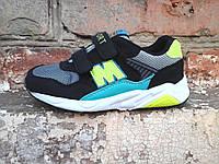 Детские кроссовки на липучках лёгкие подошва пена  M042