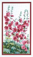 Набор для вышивания крестом Crystal Art Цветы у дома