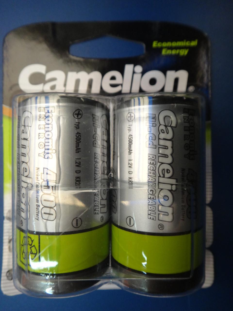 Аккумулятор Camelion D20 4500mAh 1.2V Ni-MH R20