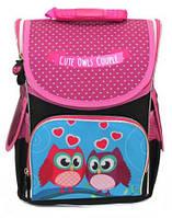 Ранец школьный ортопедический каркасный Smile Cute Owls