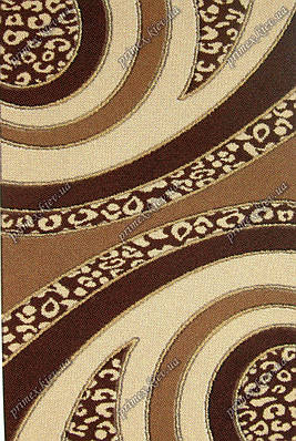"""Акриловый ковер Пангора """"Калейдоскоп"""", цвет бежево-коричневый"""
