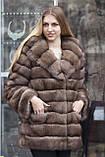 "Шуба з соболя ""Ангеліна"" sable jacket fur coat, фото 2"