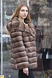 "Шуба з соболя ""Ангеліна"" sable jacket fur coat, фото 3"