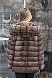 "Шуба з соболя ""Ангеліна"" sable jacket fur coat, фото 4"