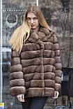 "Шуба з соболя ""Ангеліна"" sable jacket fur coat, фото 5"