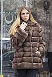"Шуба з соболя ""Ангеліна"" sable jacket fur coat, фото 6"