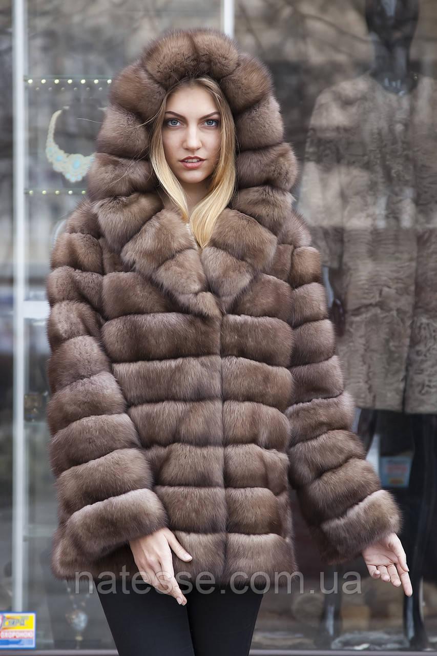 "Шуба з соболя ""Ангеліна"" sable jacket fur coat"