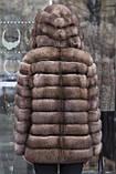 "Шуба з соболя ""Ангеліна"" sable jacket fur coat, фото 7"
