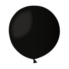 Воздушный шар 80 см черный