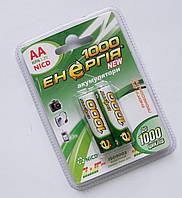 Аккумуляторы AA Энергия NiCD 2 x 1000 mAh