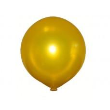 Повітряна куля сюрприз 80 см металік золото