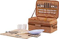 Пикниковый набор HB4-450, на 4 персоны, полная комплектация, сумка из полиэстера