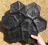 Штамп для штукатурки Каменный цветок малый, фото 1