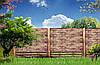 Покраска бетонных заборов и металлических ворот