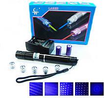 Лазерная указка фонарь-лазер синий YX-B008