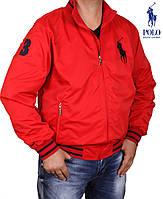 Куртка мужская Ralph Lauren -099 красная
