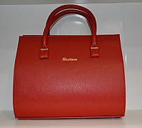 Женская сумка красная Willow