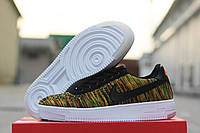 Кроссовки Nike Air Forse Flyknit (зеленые) летние кроссовки найк nike