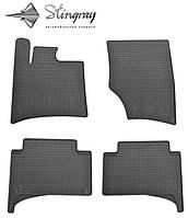 Комплект резиновых ковриков Stingray для автомобиля Audi Q7 2005-2015   4шт.