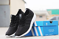 Кроссовки Adidas Bounce (черно белые) летние кроссовки адидас adidas