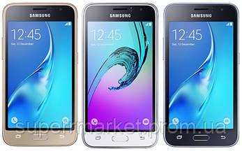 Смартфон Samsung Galaxy J1 Duos J120 Gold, фото 3
