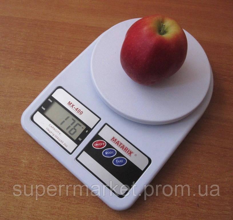 Кухонные весы MATARIX ACS MX-400 до 10kg