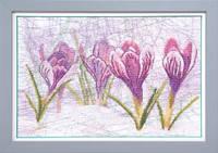 Набор для частичной вышивки крестиком Crystal Art Весенний набросок