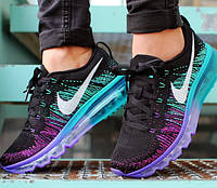 Женские кроссовки Nike Air Max Flyknit Purple Venom