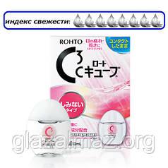 Rohto C3 мягкие глазные капли для сверхчувствительных глаз при ношении мягких контактных линз