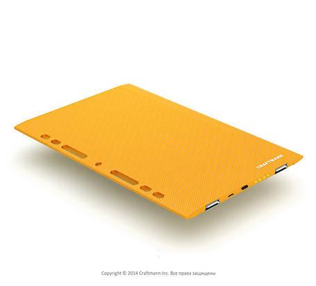 Внешний аккумулятор CRAFTMANN Tab 720 orange (ёмкость 7200mAh), фото 2