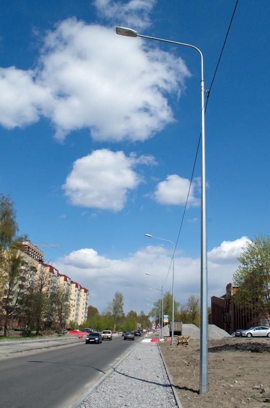 Опора освещения оцинкованная 5м гранёная GTF 50/3 - Company Group «Industrial Park» | Индастриал Парк официальный поставщик электротехнической продукции в Харькове