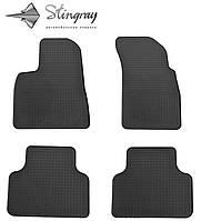 Комплект резиновых ковриков Stingray для автомобиля  Audi Q7 2015-    4шт.