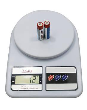 Электронные кухонные весы  (SF-400), фото 2