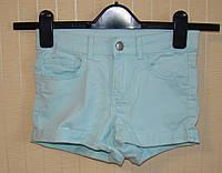Шорты детские H&M для девочки (размер 140 см, 9-10 лет)